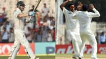 India vs Australia 2013: Ashwin's magical spell and Clarke's defiant hundred makes up for an enthralling Day 1 of the first Test