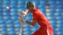 Craig Ervine, Hamilton Masakadza help Zimbabwe set competitive target against West Indies