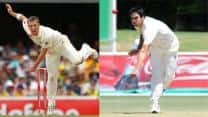 Xavier Doherty and Mitchell Johnson should come in for Nathan Lyon and Peter Siddle