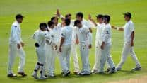 England bowled out for 167 by New Zealand in 1st Test