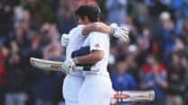 Alastair Cook, Nick Compton guide England to safe position against New Zealand on Day Four