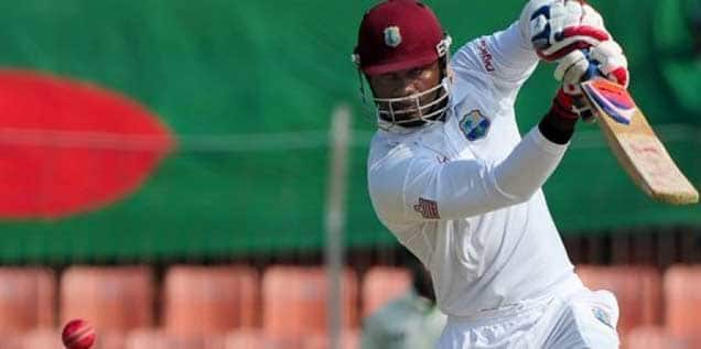 West Indies reduced to 144/5 against Zimbabwe at Lunch