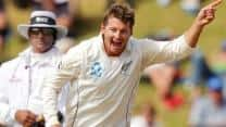 New Zealand strike back against England at Lunch on Day Two