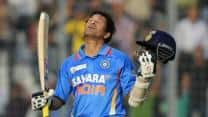 Sachin Tendulkar's hundred international hundreds may never be bettered like Don Bradman's Test average