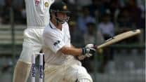 "Steve Waugh is out ""handled the ball"" against India"