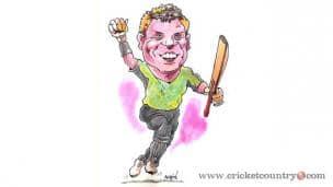 David Warner – Warning bells early in the innings!