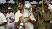 Harbhajan Singh helps India beat Australia in one of the most remarkable Test series of all-time