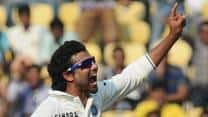 Where does Ravindra Jadeja stand as a bowler in Tests on various parameters?