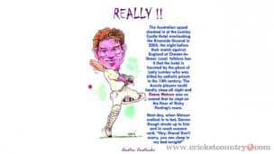 When Shane Watson was floored!