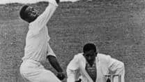 Garry Sobers provides glimpses of his greatness to come on his Test debut