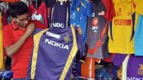 IPL 2013: Kolkata Knight Riders jerseys selling like hot cakes