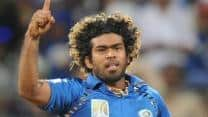 Lasith Malinga to miss Mumbai Indians's opening clash against Royal Challengers Bangalore