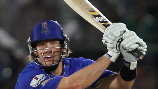 Shane Watson to miss Rajasthan Royals's IPL 2012 opener against Delhi Daredevils