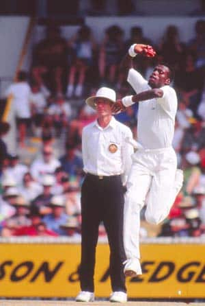 Curtly Ambrose 8 for 45 — the spell elevated him to the league of the greats