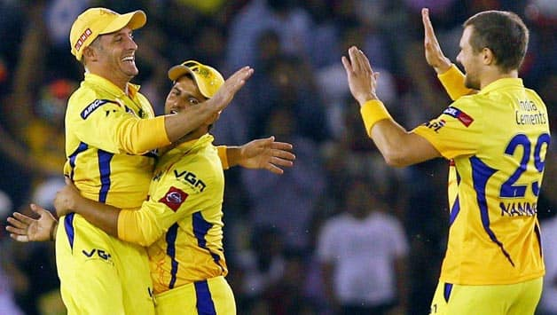 Dwayne Bravo claims three as Chennai Super Kings keep Kings XI Punjab to 138