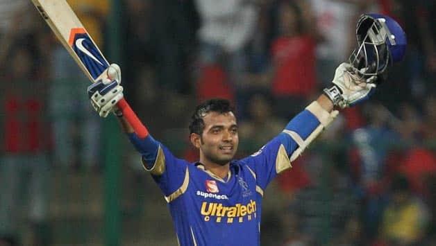 IPL: Rahane tears apart an attack comprising Zaheer, Muralitharan and Vettori to score a 58-ball hundred