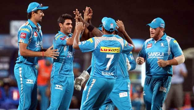 IPL 2013 Live cricket score, CSK vs PWI at Chennai: Bhuvneshwar strikes in first over