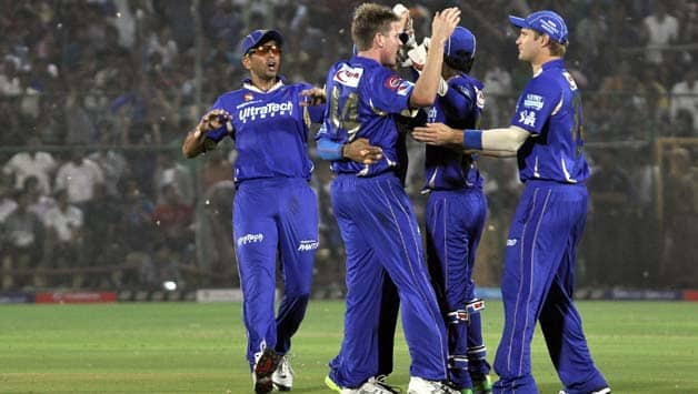 Rajasthan Royals demolish Mumbai Indians by 87 runs in IPL 2013 tie