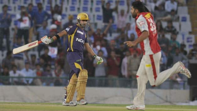 Gautam Gambhir rues not finishing Kolkata Knight Riders' chase against Kings XI Punjab