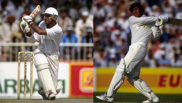Inzamam-ul-Haq and Aamer Sohail pummel New Zealand with a world record partnership of 263 runs