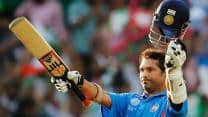 The four times Tendulkar played a match on his birthday