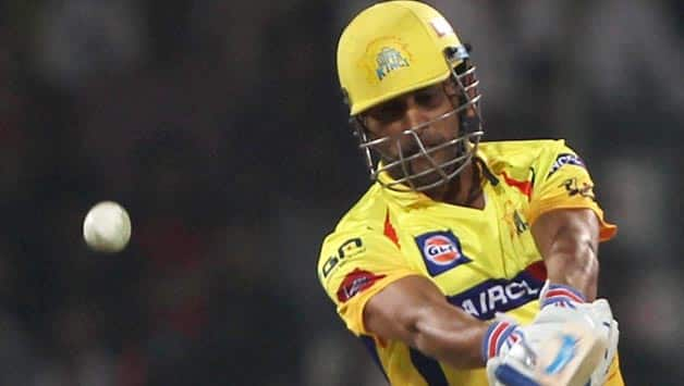 MS Dhoni stars in a last-over victory for Chennai Super Kings