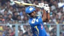 Mumbai Indians set huge target for Royal Challengers Bangalore in IPL 2013 match