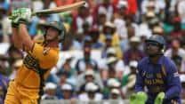 ICC World Cup 2007 final: Adam Gilchrist illuminates a gloomy Kensington Oval