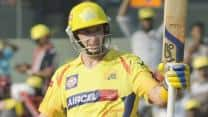 Michael Hussey's 95 powers Chennai Super Kings to 200/3
