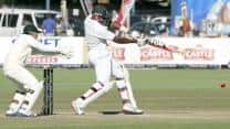 Bangladesh inch closer to victory at lunch on Day 5