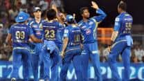 Kings XI Punjab fall inches short, Mumbai Indians notch 3rd straight win