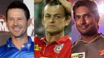 Ponting, Gilchrist and Sangakkara bring huge value to their respective teams even when not in the playing XI