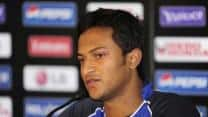 Shakib Al Hasan fined for showing dissent at umprie's decision during tie against Zimbabwe