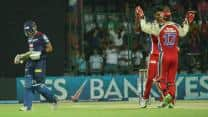 IPL 2013: Royal Challengers Bangalore edge spirited Delhi Daredevils by 4 runs