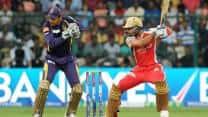 KKR vs RCB Live IPL 2013 T20 Cricket score