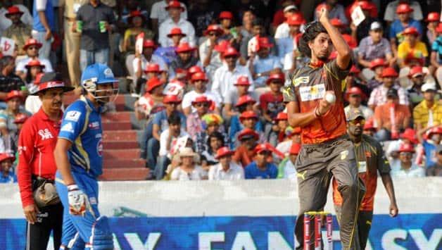 MI vs SRH Live Cricket score IPL 2013