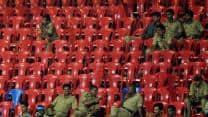 IPL 2013: Minor fire breaks out at Chinnaswamy Stadium