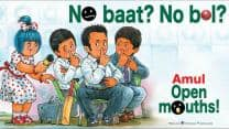 MS Dhoni's media gag by BCCI: Amul takes a dig