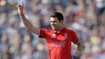 James Anderson becomes England's leading wicket-taker in ODIs
