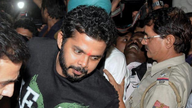 BCCI to issue notice to S Sreesanth, Ankeet Chavan and Amit Singh