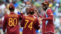 ICC Champions Trophy 2013: South Africa-West Indies clash reduced to 31-overs-a-side due to rain