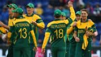 ICC Champions Trophy 2013: Match tied as South Africa pip West Indies to advance to semi-finals
