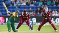 ICC Champions Trophy 2013 stats highlights: South Africa vs West Indies