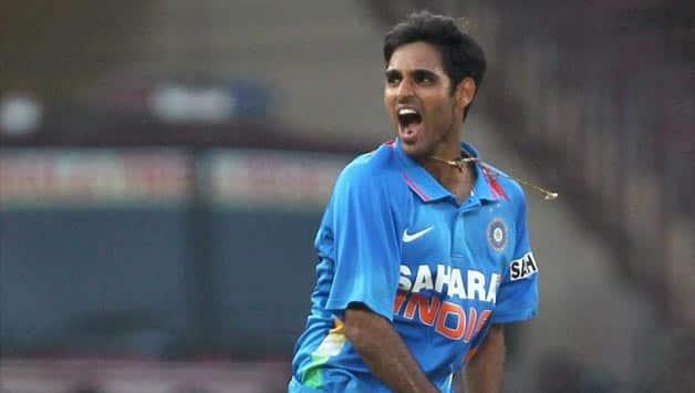 India vs West Indies 2nd ODI at Visakhapatnam: Bhuvneshwar Kumar removes Johnson Charles early; Score /1 in 4 overs