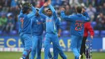 ICC Champions Trophy 2013: India contain Sri Lanka to 181/8 in 2nd semi-final