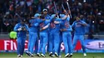 Jagmohan Dalmiya congratulates Indian team on winning ICC Champions Trophy 2013