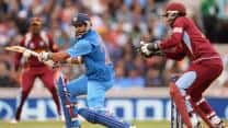 Live Cricket Score West Indies vs India 2013 2nd tri-series match at Kingston
