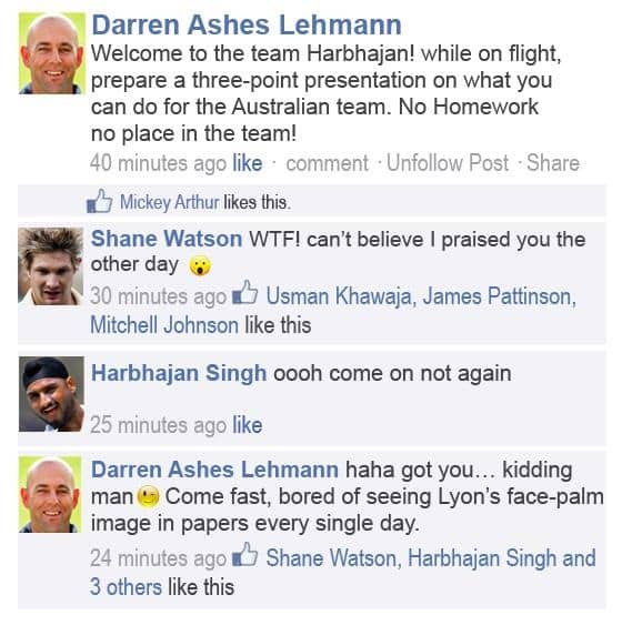 Breaking News: Harbhajan Singh included in Ashes squad after CA gets clearance from BCCI!