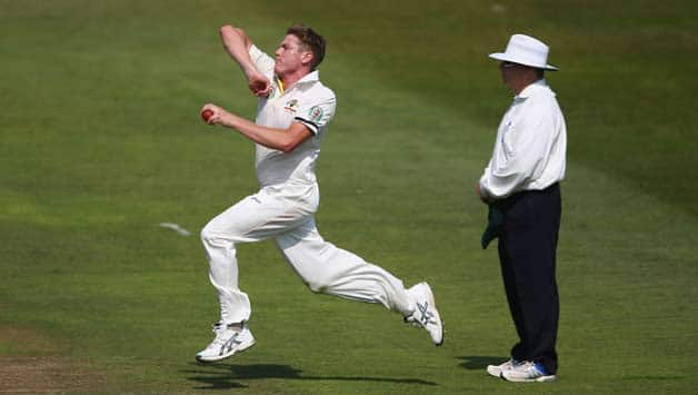 James Faulkner may get a chance to play against England if Australia go with five-man pace attack: Darren Lehmann