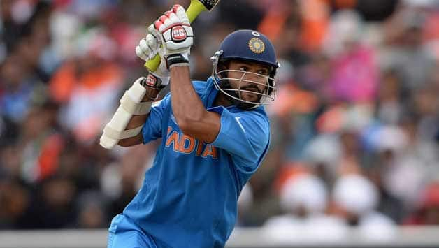 India A slam 309/5 in 38 overs as Shikhar Dhawan, Rohit Sharma, Suresh Raina, Ambati Rayudu score half-centuries